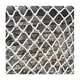 Gartennetz, Kindersicherung, Nylonnetz, Gartendekoration, Konstruktionsnetz, Kindertreppe, Balkonschutz, Nylonnetz, Pflanzenzaun (Größe: 1 x 1 m)