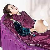 WANGXNCase Sauna Heizdecke,Ferninfrarot Sauna Decke Mit Reißverschluss Sauna Heizdecke Body Shaper Gewichtsverlust Sauna Schlankheitsdecke Detox Therapiegerät Mit Fernbedienung