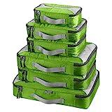 G4Free 3/6/7pcs Packwürfel Verpackung Cubes Wert für Reisegepäck Org