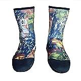 1.5mm Wetsuits Socks,Beachsocken für Herren/Damen - Sandsocken, Neoprensocken, Strandsocken für Strand/Wasser Tauchen/Kajakfahren/Schwimmen/Schnorcheln/Bootfahren