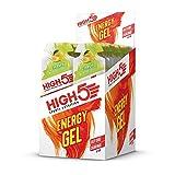 HIGH5 Energy Gel Power Gel, schnell und dauerhafte Energie im leicht zu öffnenden Portionsbeutel, mit natürlichem Fruchtsaft – Multipack 20x40g (Zitrus)