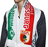 Do You Football 2X FCA FC Augsburg Werder Bremen Schal Fanschal Rot Weiß Grün