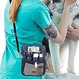 SUYUDD Krankenschwester Hüfttasche, Nylon Krankenschwester Organizer Tasche Tasche für Zubehör Werkzeugkoffer Home Care Kit