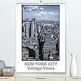 NEW YORK CITY - Vintage Views (Premium, hochwertiger DIN A2 Wandkalender 2021, Kunstdruck in Hochglanz)