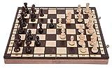 Square - Schach Schachspiel - Sport - 40 x 40 cm - Schachfiguren & Schachbrett aus Holz