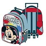 ARDITEX WD13801 Disney-Mickey Trolley, 24 x 36 x 12 cm