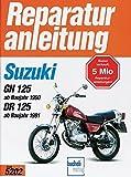 Suzuki GN 125 (ab Baujahr 1990), DR 125 (ab Baujahr 1991) (Reparaturanleitungen)