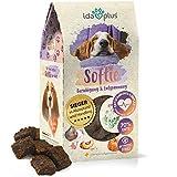 Ida Plus Softie - natürliches Beruhigungsmittel für Hunde mit Baldrian & Melisse - gegen Stress & Angst - Silvester, Tierarzt - natürliche Entspannung als Hunde Snack mit Ente - hält bis zu 30 Tage