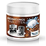 Klangfeiler® 90 Reinigungstabletten für Kaffeevollautomaten - für Kaffeemaschinen - 90 Stück je 2g - Reinigungstabs kompatibel mit Krups, Siemens, Jura, Melitta e.t.c.