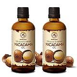 Macadamianussöl - 200ml - Macadamia Öl - Macadamia Integrifolia aus Südafrika - Kaltgepresst - Rein & Natürlich - Trägeröl - für Haut - Körperpflege - Haarpflege - Trockenes Haar - Spliss Entferner