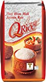 Q RICE Jasminreis – 100% duftender Langkorn Reis – Thai Hom Mali - 3 x 1 kg