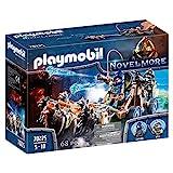 PLAYMOBIL Novelmore 70225 Novelmore Wolfsgespann und Wasserkanone, für Kinder von 5 - 10 Jahren