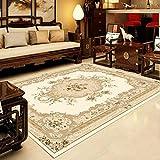 Europäische Und Amerikanische Waschbare Wohnzimmerteppiche Verdickte Doppelschichtige Couchtisch-Fußmatten Rutschfeste, Haltbare Büro-Fußmatten, Fußmatten, Haustier-Teppiche, Schlafzimmer-B