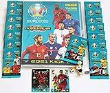 Panini Adrenalyn XL EURO 2020 Kick Off 2021 - Sammelmappe + 15 x Booster + limited Edition Lukaku + Fußballfigur Donald von Bullyland NEU