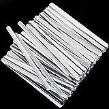 ABOAT Nasenleiste aus Metall, Aluminium, verstellbar, für Bastelprojekte, Nähzubehö