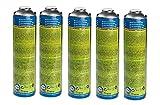 CFH. 5X Universalgas at 2000 Gas 30% Propan und 70% Butan Gaskartusche Druckgasdose 330g 600 ml