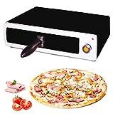 MovilCom® - Elektrischer Pizzaofen | Tischofen | Mini Pizzaofen | Pizzamaker
