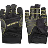 Sprenger Segelhandschuhe Regatta Sporthandschuhe ohne Fingerkuppen, Größe:XL