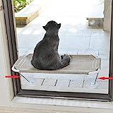 LSAIFATER Rundum 360° Sonnenbad mit unteren Stützen aus Metall, Katzen-Fenstersitz, Katzenhängematte, Fenstersitz fü