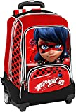 Ladybug Miraculous Organisierter Schule Trolley Rucksack F. C. Panini