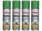 Velind Hautschutz und Mückenspray 4er Pack (4 x 200 ml)