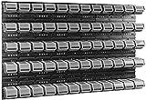 60 tlg Stapelboxen mit Deckel Werkstattwand Wandregal 6 Wandplatten