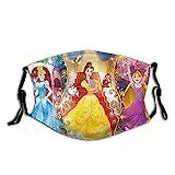 Disney Princess UV-Gesichtsmaske, Sonnenmaske, Motorrad-Kopfbedeckung, magischer Schal, zum Angeln, Jagen, Laufen, Skifahren