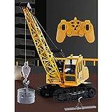 CHENBAI Fernbedienungskran/RC-Kran / 10-Kanal/RC-Kran Baufahrzeuge/Spielzeuglastwagen/Elektronisches Spielzeug/Kindertag Jungen und Mädchen