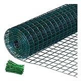 HOME-MJJ Isolationszaun Holländische Netze Schutznetz Stacheldraht Zuchtnetz Zaun Hühnerzaun Zaun Stahldraht Isolation Hartplastiknetz (Color : 1.5m, Size : 2.5mm)
