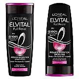 L'Oréal Paris Elvital Full Resist Haarpflege Set - 2 Shampoos + 1 Conditioner