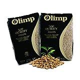 JSM-Brennholz - Holzpellets Olimp Premium-Qualität - Sackware (2 x 15 kg) EN Plus A1