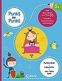 Punkt zu Punkt - Mit den Zahlen von 1 bis 20: Lernspiele für Kinder ab 5 Jahre