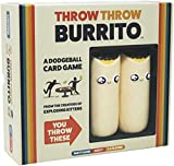Exploding Kittens 1TTBOE Throw Burrito by Exploding Kittens - A Dodgeball Card Game - Family-Friendly Party Games - Card Games for Adults, Teens & Kids - Englische Version