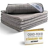washly Mikrofasertücher 6 Stück 30 x 30 cm Oeko-TEX Universal Reinigungstücher I Microfaser Putztuch vielseitig einsetzbar I Mikrofaser Reinigungstücher sind extrem saugstark, weich und fusselfrei