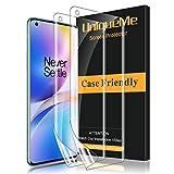 UniqueMe [2 Stück] Schutzfolie für Oneplus 8 Pro Folie, Oneplus 8 Pro Flexible Displayschutzfolie Soft HD TPU Klar Displayschutz