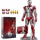 ZT 10. Jahrestag 17,8 cm Deluxe Sammler Iron Man MK5 Actionfiguren