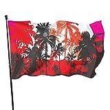 Gartenflagge Club Tropicana Lebendige Farbe und UV-beständig, doppelt genäht, Yard-Banner, Jahreszeitenflagge, Wandflaggen, 91 x 152 cm