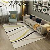 ZAZN Gedeckter Teppich Im Chinesischen Stil rutschfeste, Verschleißfeste 3D-Wohnzimmer Schlafzimmer Büro Grauer Teppich Türmatte Im Chinesischen Stil Sofa Couchtisch M
