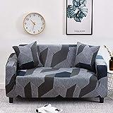 JIAYAN Elastic Sofabezug Set Baumwolle Universal Sofabezüge für Wohnzimmer Haustiere Sesselbezug Sofa Chaiselongue-Farbe27,2-Sitzer 145-185cm, China