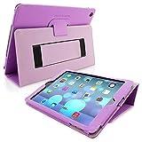Snugg iPad Air 2 (2014)Schutzhülle, Leder Schutz Klapphülle Case Cover Ständer für Apple iPad - V