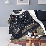 Plüsch Decke Werfen für Alle Jahreszeiten Sanft Leicht Warm,Cafe Racer Wallpaper 4k,Gemütlich Bettdecke Reisebett Couch Quilt,40' X 50'