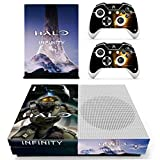 Xbox One S Halo Infinity Console Skin, Decal, Vinyl, Sticker, Faceplate - Console and 2 Controllers - Protective Cover XBOX ONE S