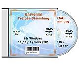 Universal Treiber-Sammlung für Windows 10 - 8 - 7- Vista - XP (32 & 64 Bit)