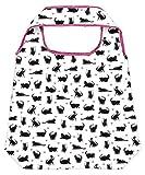 moses. Shopper Katze | Faltbare Einkaufstasche | umweltfreundlich, wiederverwendbar