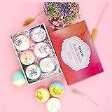 CJDM Rose getrocknete Blume ätherisches Öl Bad Salzball High-End Geschenkbox