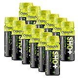 12x OstroVit Pre Workout Shot | 80 ml je Behälter | Training Pump Energy Booster Drink Kraftsport | Nahrungsergänzungsmittel (12er Pack)