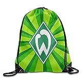 huatongxin SV Werder Bremen Logo Drawstring Backpack Sack Bag