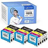 15 myCartridge Druckerpatronen Kompatibel für Epson 18 18XL für Epson Expression Home XP-202 XP-205 XP-215 XP-225 XP-305 XP-312 XP-322 XP-325 XP-402 XP-405 XP-412 XP-415 XP-425