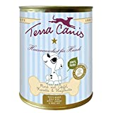 Terra Canis   Welpe Rind mit Apfel, Karotte und Hagebutte   6 x 800 g