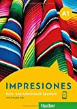 Impresiones A1: Kursbuch + Arbeitsbuch + 2 Audio-CD